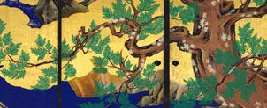 檜図 狩野永徳